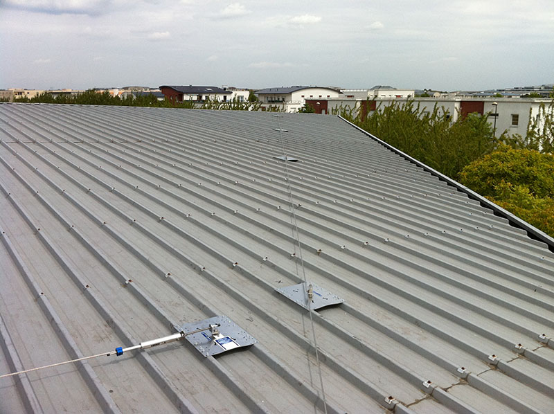 Ligne de vie pour toiture - Cleas Protection