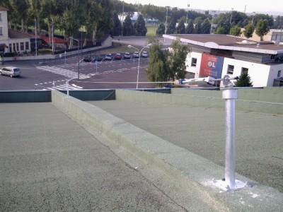 Reglementation ligne de vie toiture terrasse