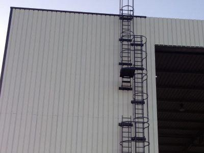 accès en hauteur
