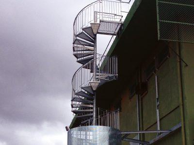 escalier helicoidale