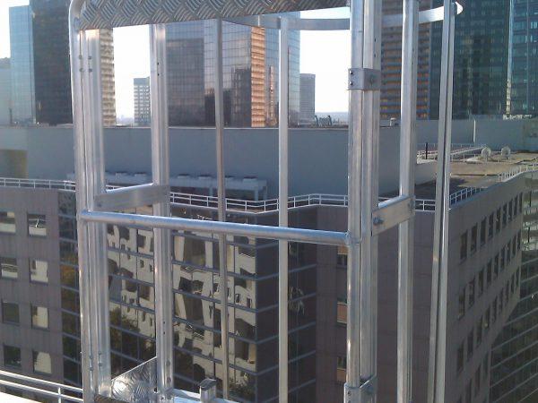 Palier d'accès en hauteur