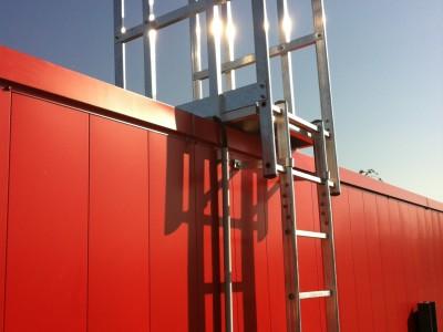 Sécurisation d'un accès à un toit