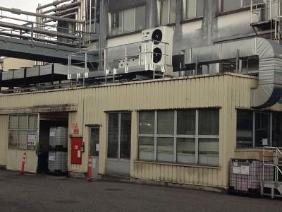 Passerelle d'accès en milieu industriel